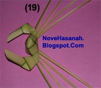 Cara Membuat Kepiting dari Daun Kelapa (Janur) 19