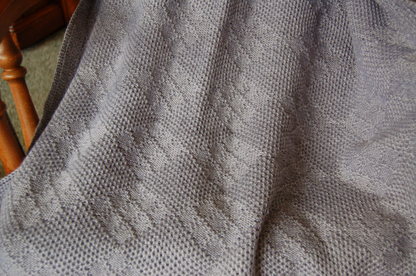 Dolly creates tuck stitch afghan knitting machine knit 3 rows set carriage for pattern knitting knit 773 rows set carriage back to regular knitting knit 3 rows bind off using a size 5 crochet hook bankloansurffo Images
