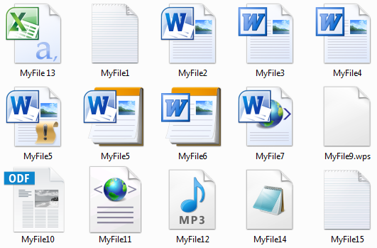 how to show file extensions in windows xp