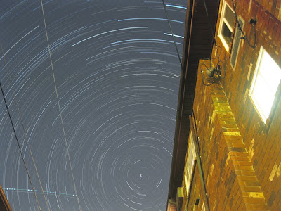 star trails in ohio