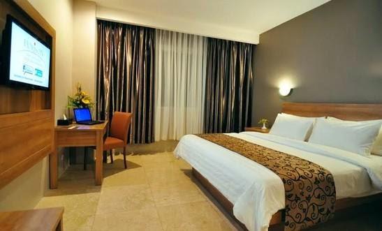 Salah Satu Kamar Hotel Horison Pematang Siantar