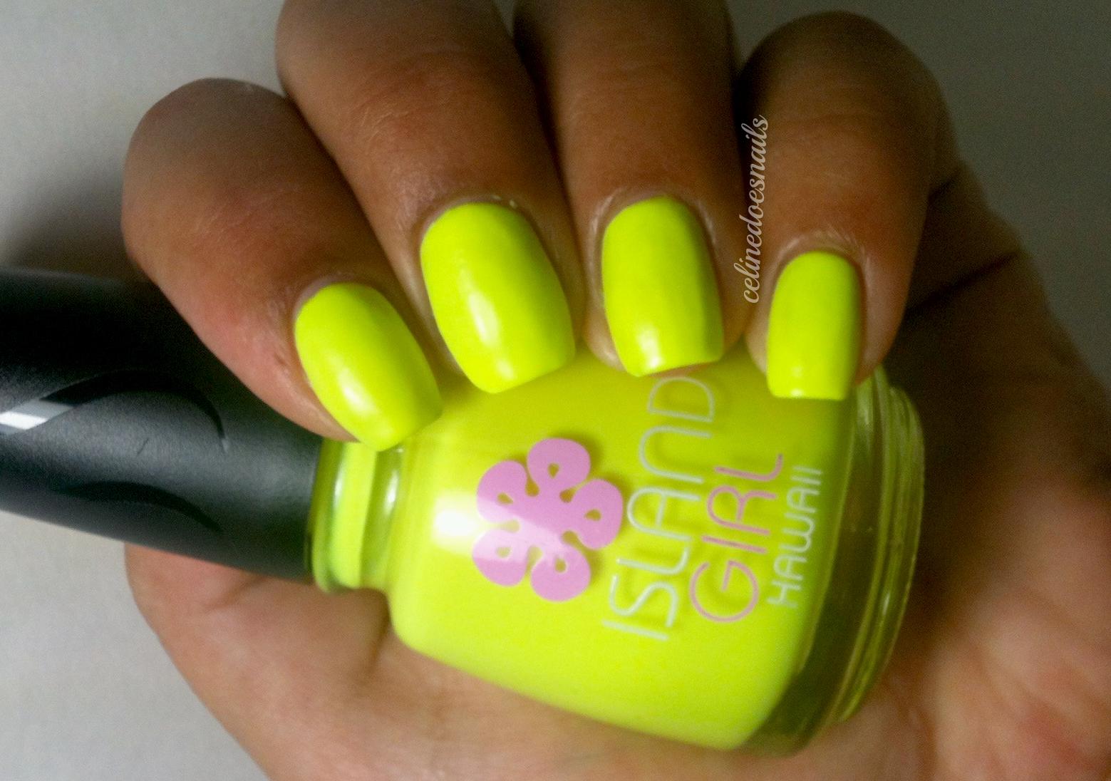 Nails By Celine: Island Girl Polishes- Sugar Cane & Plain Glow in ...