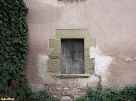 Una finestra del mas El Gurri Gros. Autor: Carlos Albacete