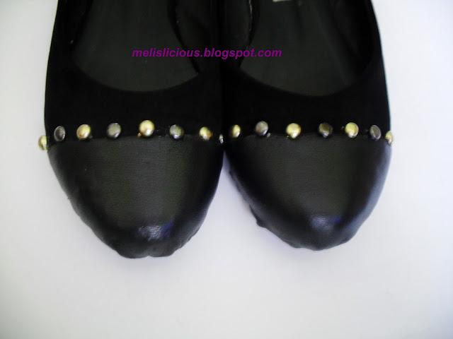 zımbayla ayakkabı süsleme