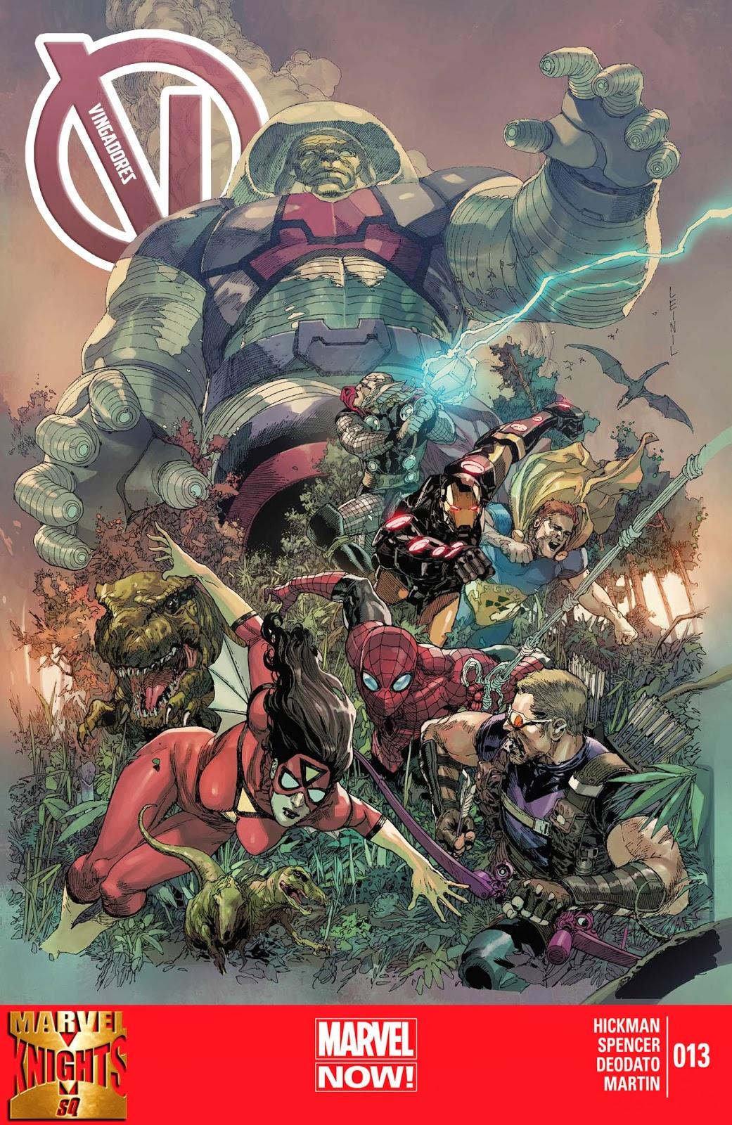 Nova Marvel! Vingadores v5 #13