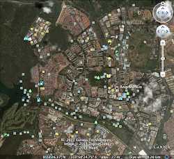 Map of Yio Chu Kang