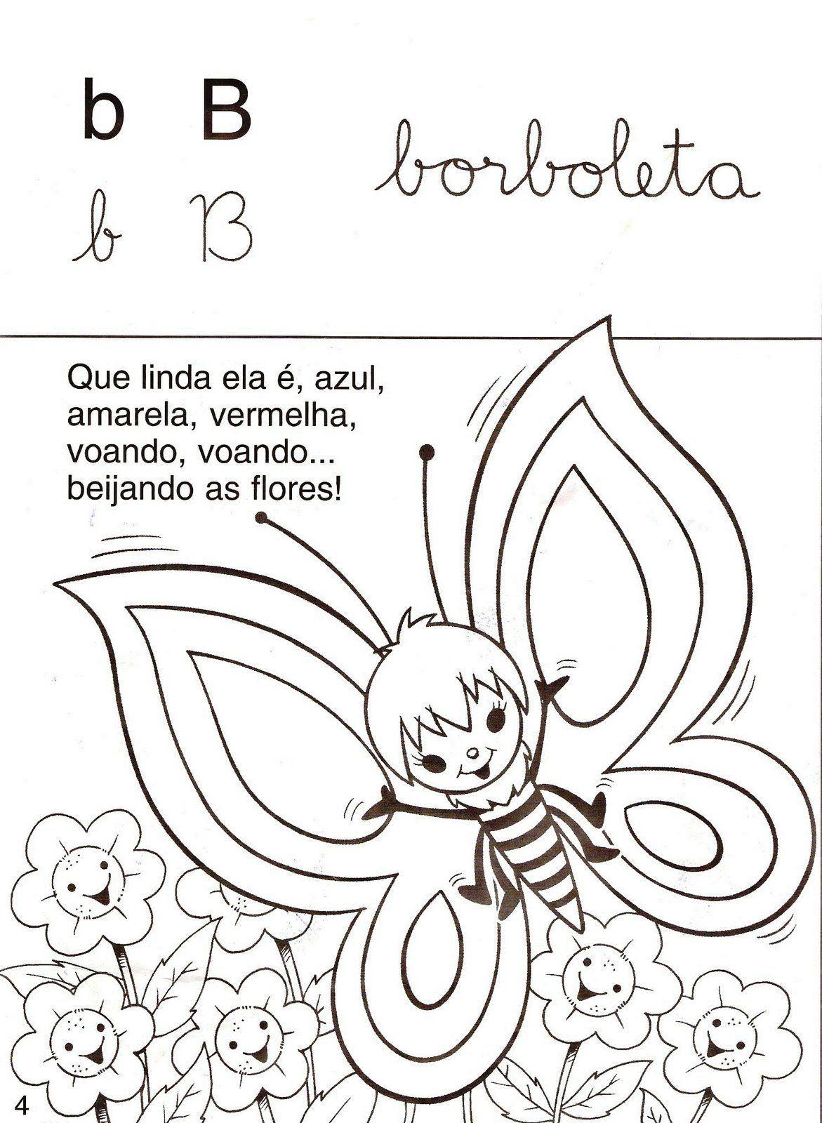 Excepcional Alegria de Aprender na Educação Infantil: ATIVIDADES COM A LETRA B PA55