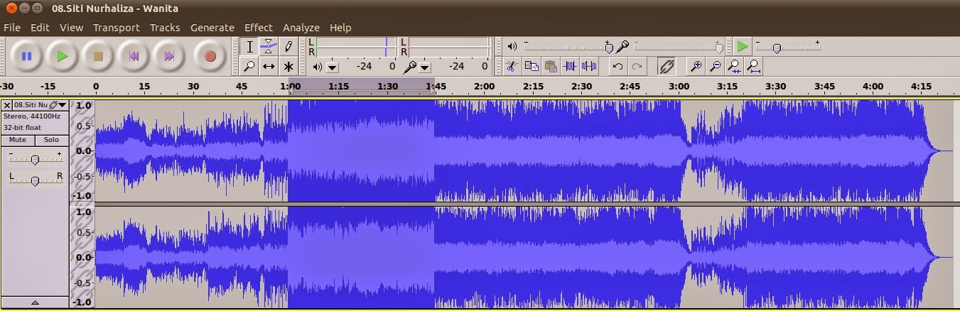 audacity how to make a bass boost