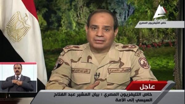 بالفيديو، المشير عبدالفتاح السيسي يعلن استقالته كوزير دفاع ويترشح للرئاسة