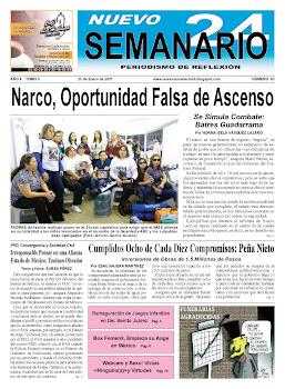 NUEVO SEMANARIO 24, NÚMERO 93