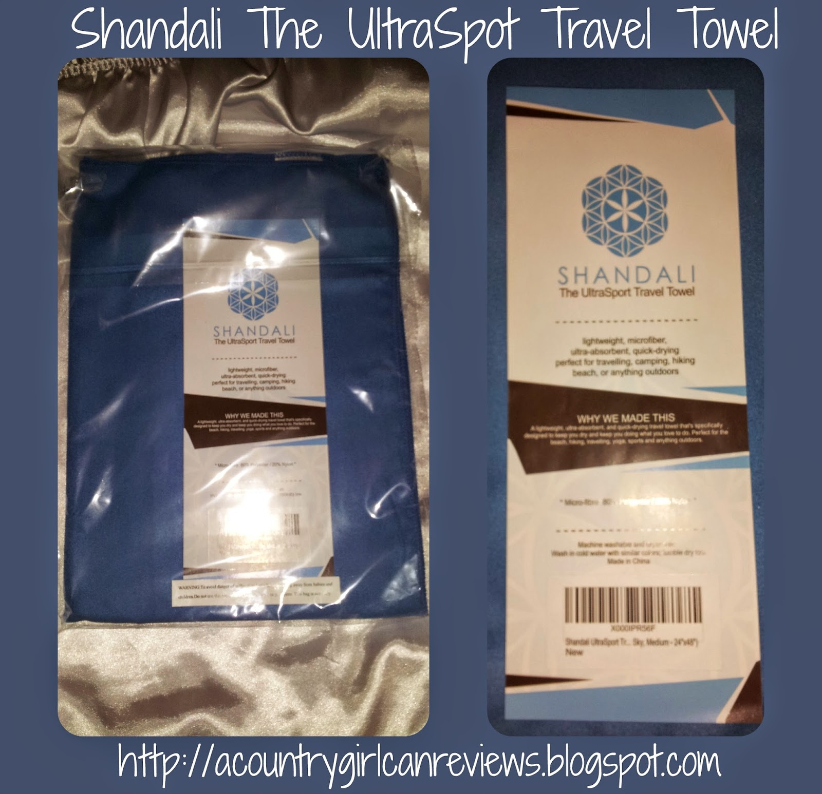 A Country Girl Can Reviews/Giveaways: Shandali Travel