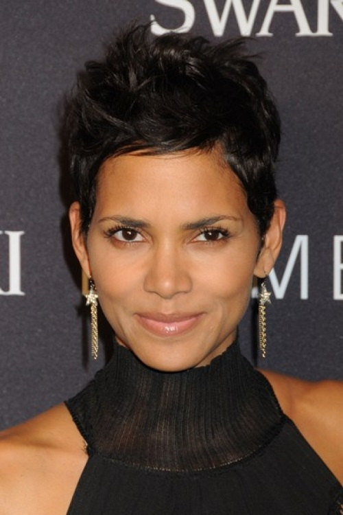 Beautiful Short Pixie Hairstyles For Black Women
