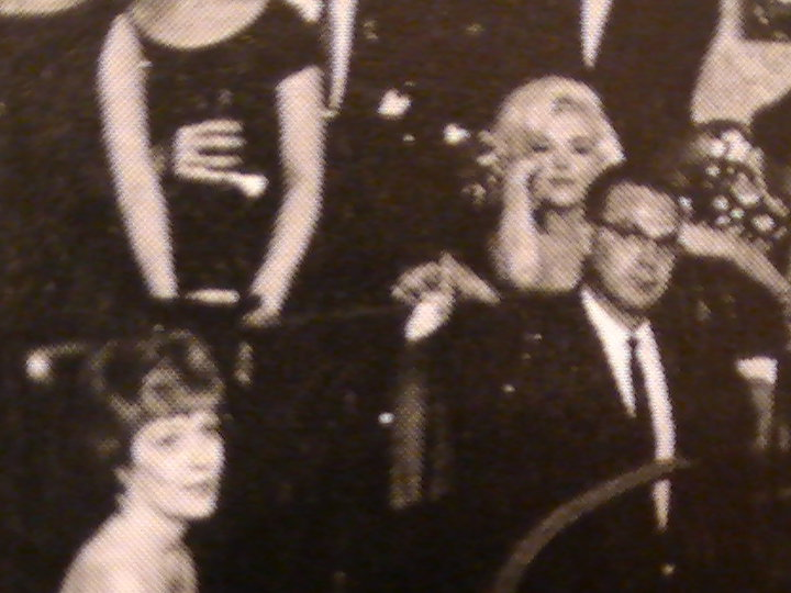 FLOYD BORING AND MARILYN MONROE THE NIGHT SHE SANG HAPPY BIRTHDAY TO JFK MAY 1962