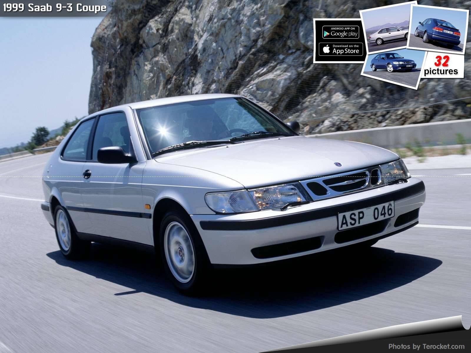 Hình ảnh xe ô tô Saab 9-3 Coupe 1999 & nội ngoại thất