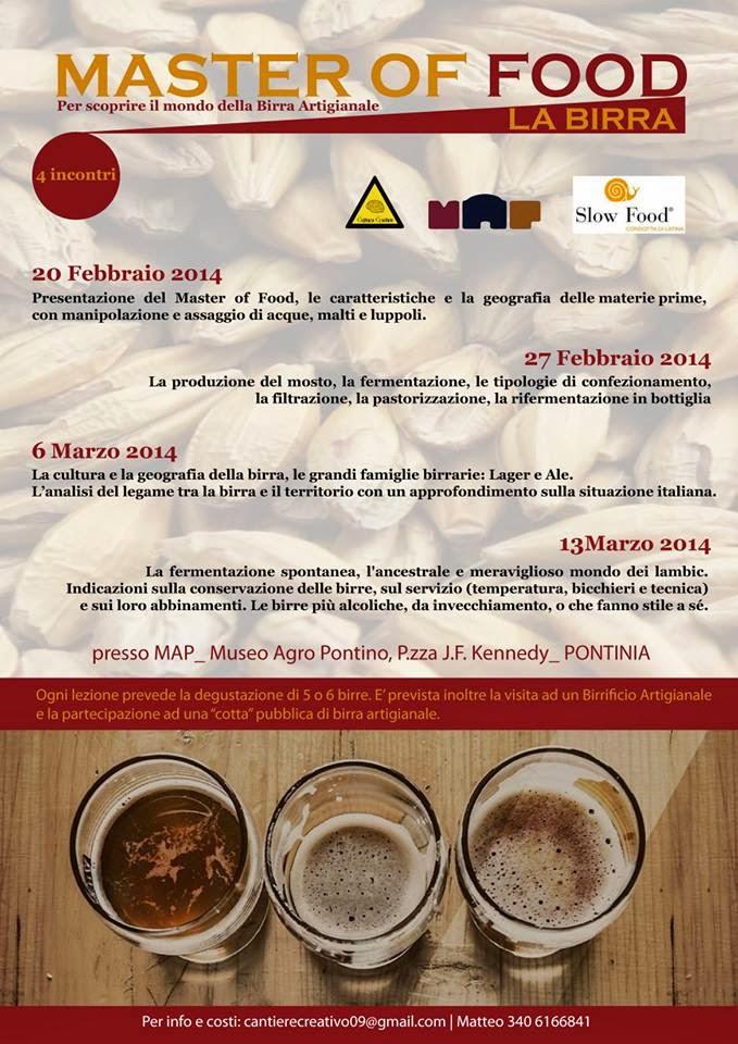 Master Of Food dal 20 Febbraio al Map di Pontinia