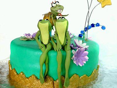 Espero que estos modelos de Tortas de La Princesa y el Sapo para ...