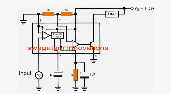vehicle speed limit alarm circuit