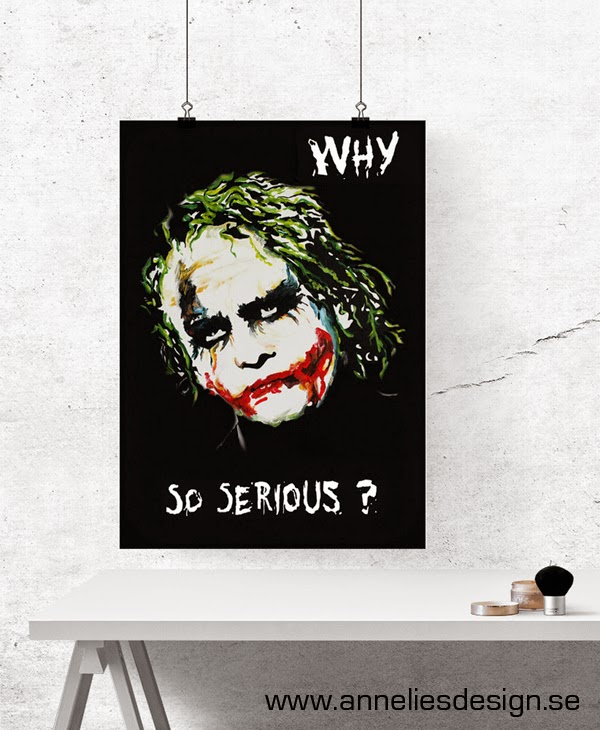 "Konsttrycket ""Jokern"""