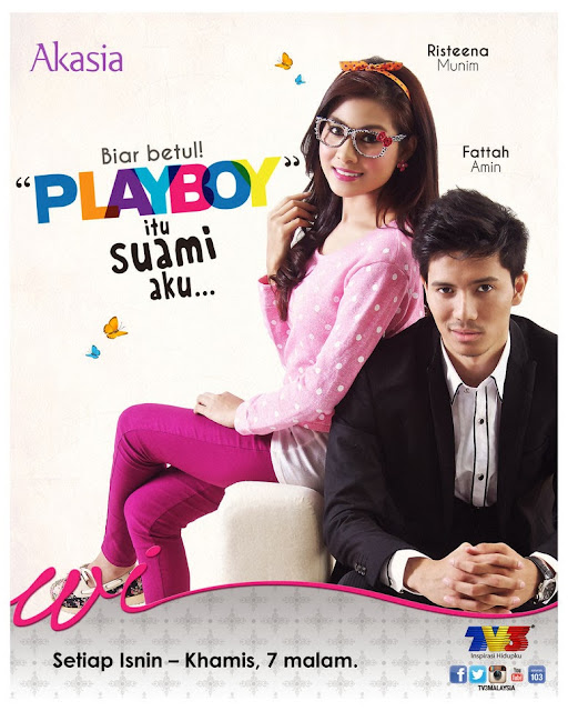 Sinopsis Playboy Itu Suami Aku - Akasia TV3
