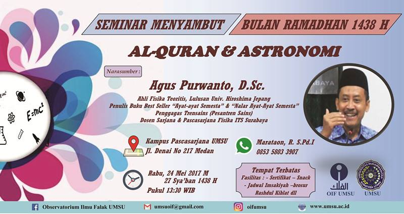 Seminar Nasional Menyambut Ramadhan 1437 H