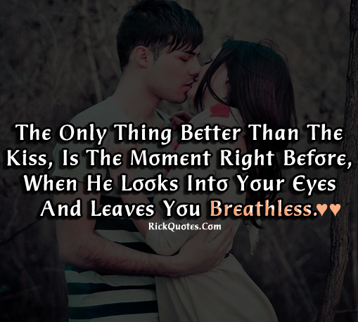 Kiss Love Quotes : kiss quotes kiss quote