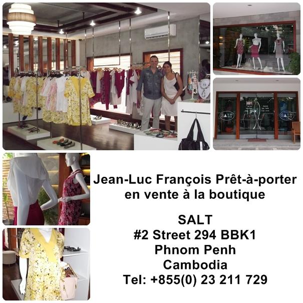 le journal de jean luc fran 231 ois lancement des collections jean luc fran 231 ois au cambodge juin 2012