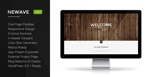 Newave -  Responsive Wordpress Theme