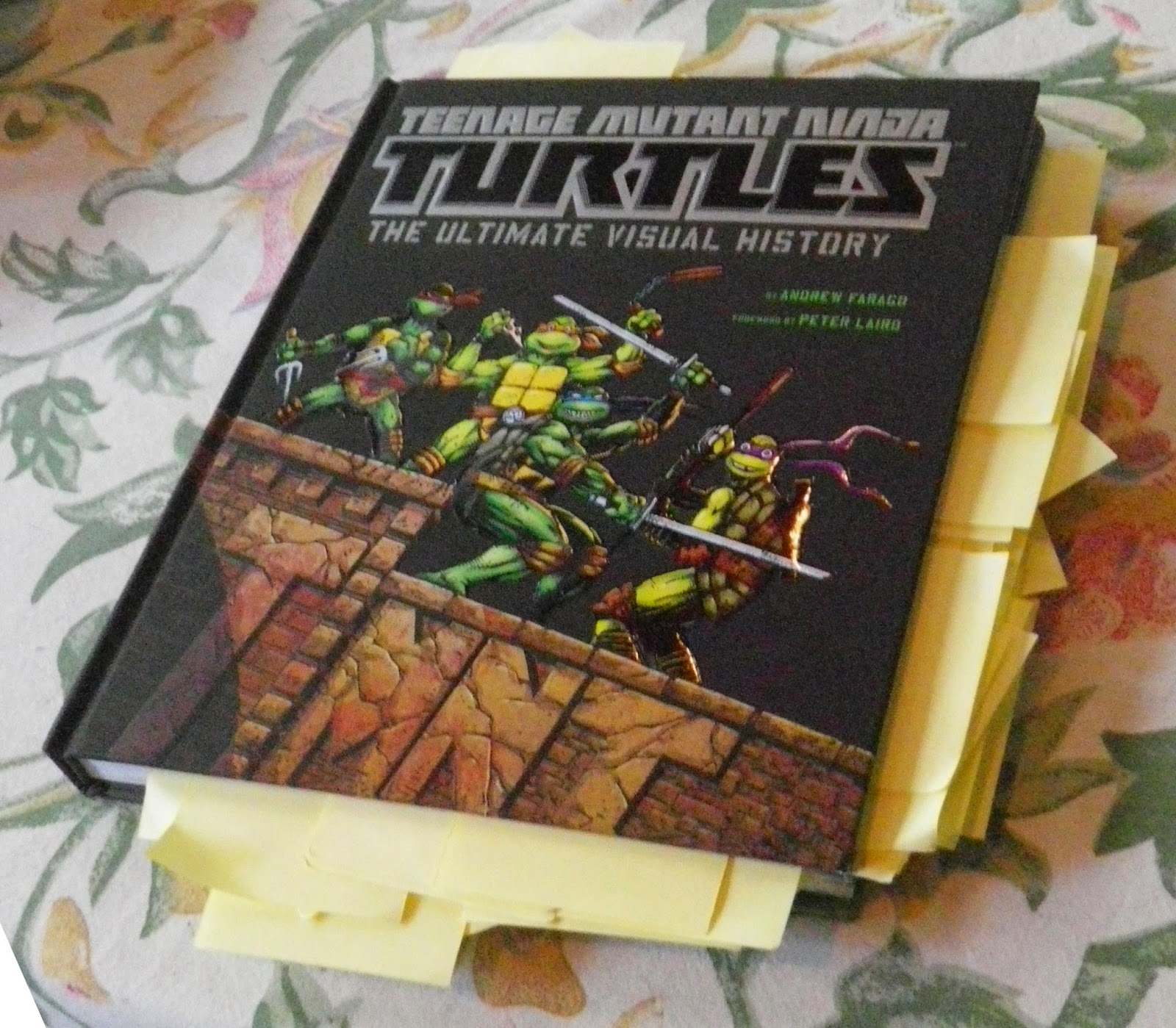 peter lairds tmnt blog a review of quotteenage mutant ninja