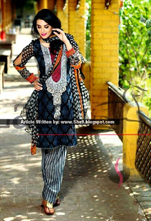 Lala's Mashaal Embroidered Lawn for Women