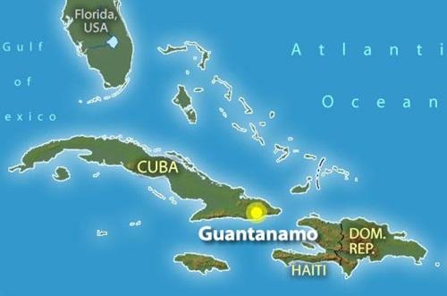 Guantanamo Körfezi ABD'nin Neresinde