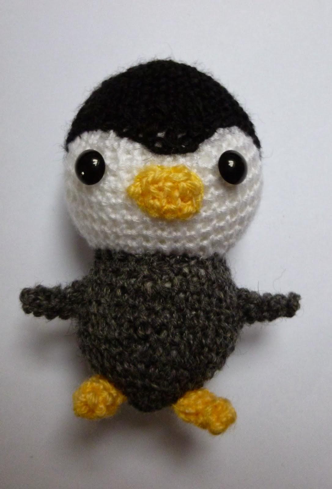 Amigurumi Patterns Penguin : Pattern amigurumi penguin
