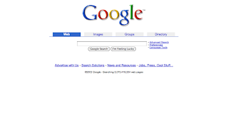 Google 2001 2007