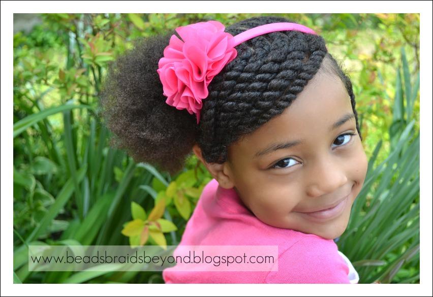 Little Black Girls Hairstyles with Braids