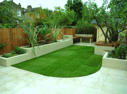 Garden design landscape garden design for Low maintenance garden design pictures