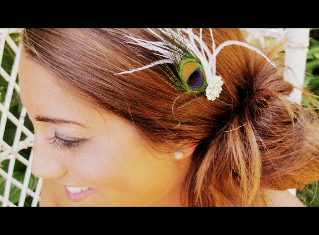 Peacock Wedding Ideas And Supplies Peacock Hair Accessories