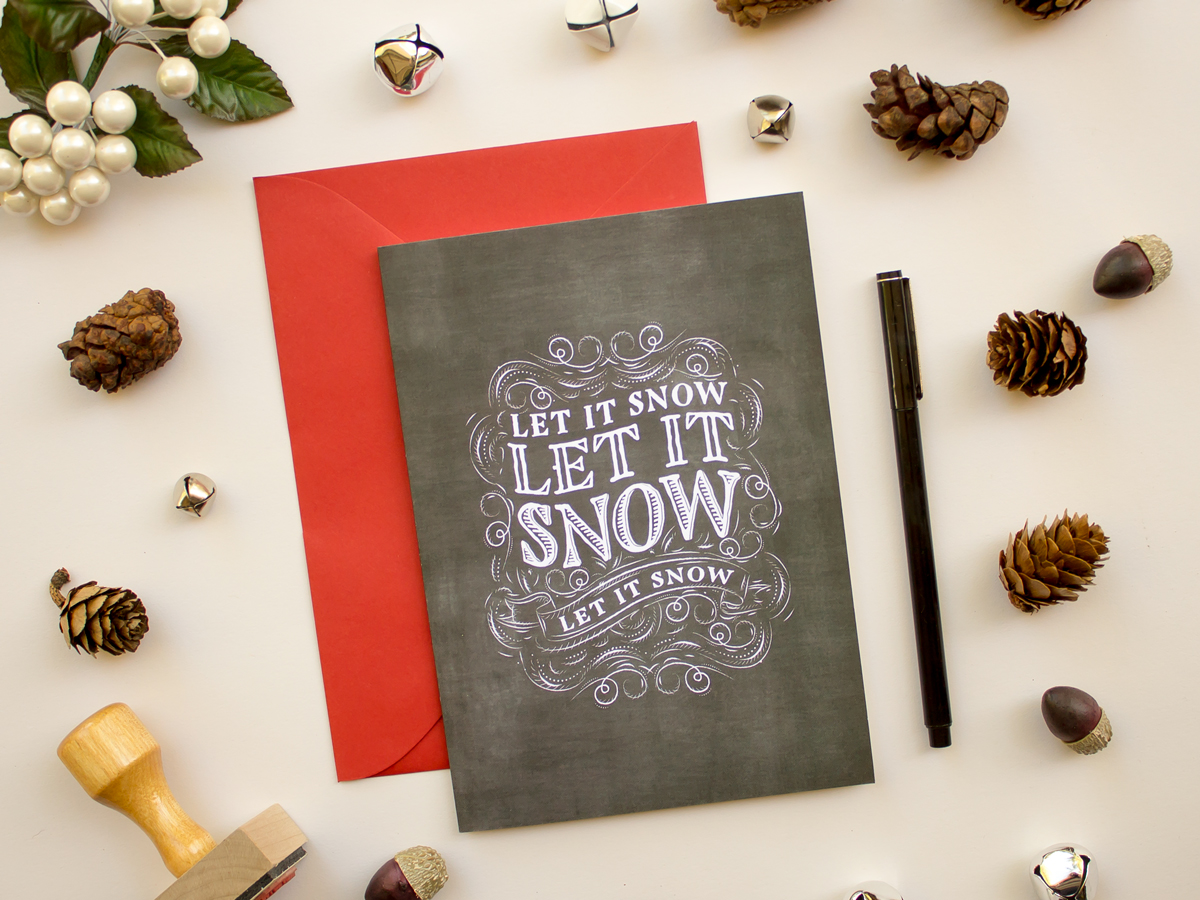 https://www.etsy.com/listing/207391440/chalkboard-christmas-card-with-red?ref=related-0