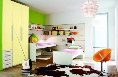Dormitorios infantiles con varios colores temas modernos - Dormitorios infantiles modernos ...