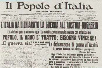 Polverigi (Ancona) Venerdì 22 maggio 2915. ore 21