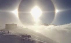 Breath taking Sun Halo