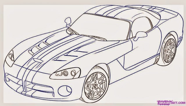 Car Drawing - <center>Best Cars Dealers</center>