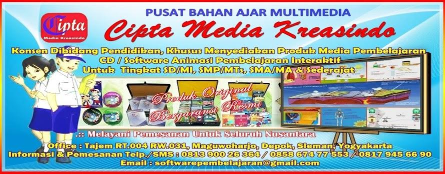 CD INTERAKTIF PEMBELAJARAN MULTIMEDIA SD/MI, SMP/MTS, SMA/MA, SMK