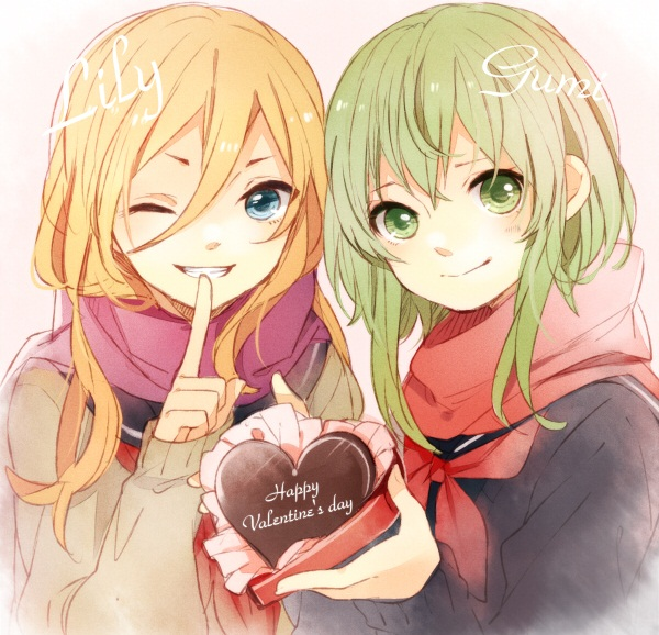 Gumi, Lily,anime vocaloid
