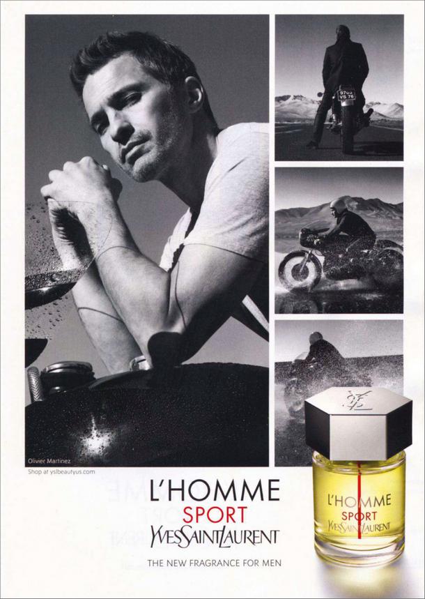 Fragrâncias masculinas de Yves Saint Laurent