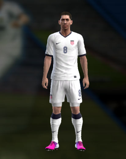 PES 2013 United States 2013 Centenary Home Kit by Tasci