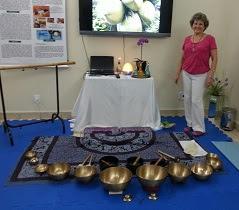 Musicoterapia vibroacústica com Taças Tibetanas