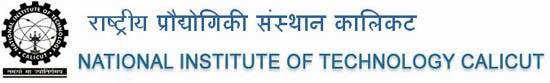 NIT Calicut NATIONAL INSTITUTE OF TECHNOLOGY CALICUT