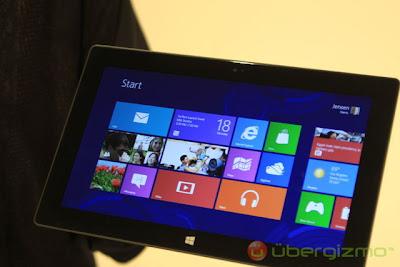 Microsoft Surface Review | Harga & Spesifikasi Tablet Microsoft Surface Terbaru 2012
