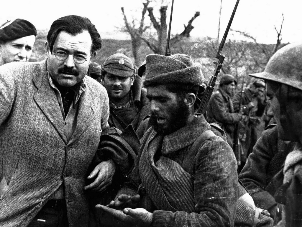 hemingway s disillusionment with war in for Hemingway on war has 78 ratings and 10 reviews matt said: i read this book to get a sense of hemingway's writing as a war correspondent to see what hem.