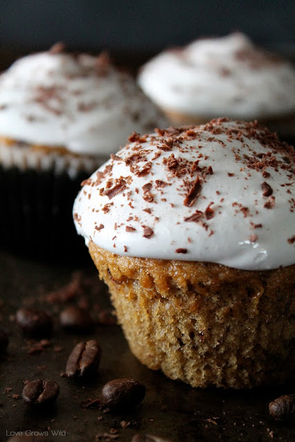 Cappuccino and Chocolate Cupcakes are the ultimate decadent dessert!