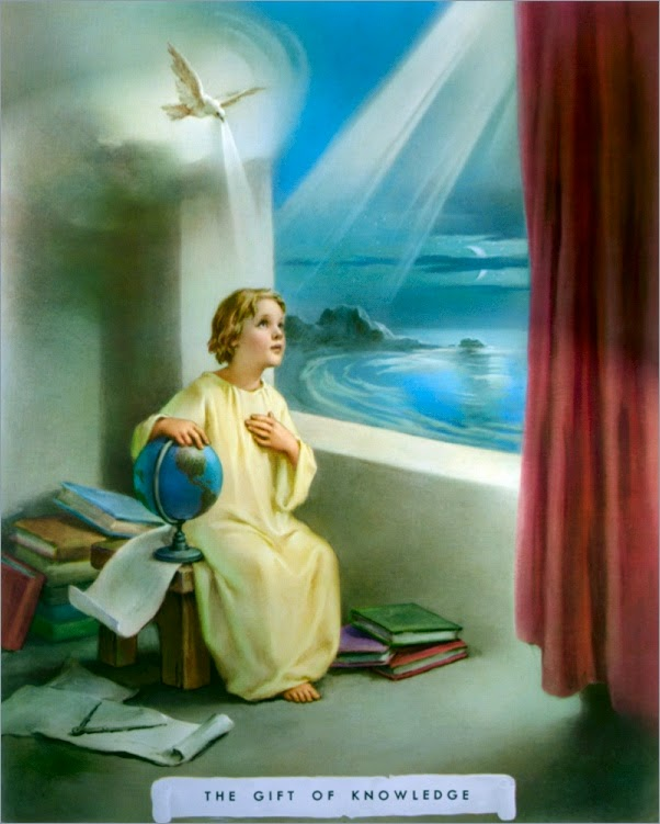 Holy spirit gift of Knowledge